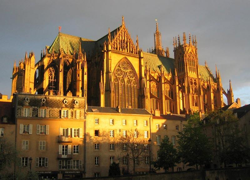 Metz, un des cœurs de la Lorraine